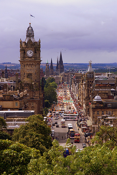 Princes Street - Edinburgh