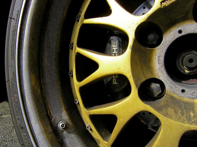 BBS sur Porsche 993 TwinTurbo