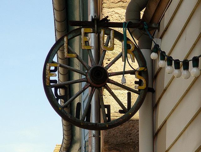 la roue de fleurs