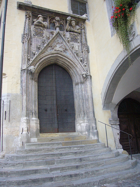 Regensburg - Portal Altes Rathaus