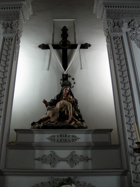 """Algarve, Church of Lagos, """"Pieta"""""""