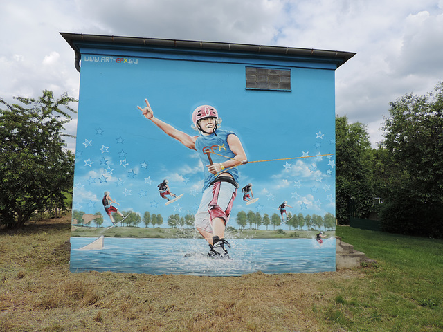 Trafostation Großbeeren - Wasserskianlage