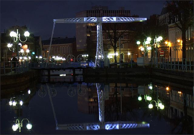 Douai by night