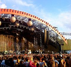 Voorprogramma Coldplay: Miss Montreal