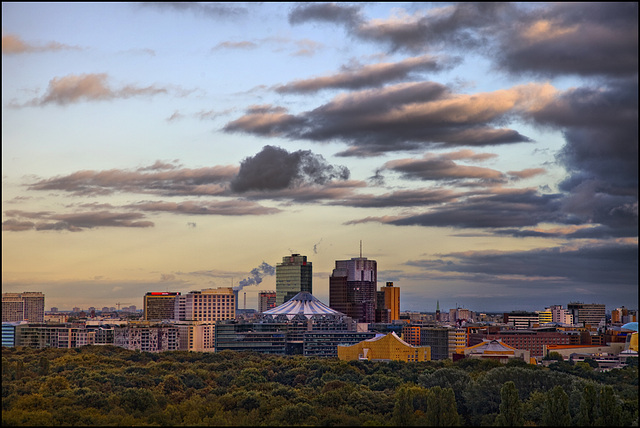 city evening