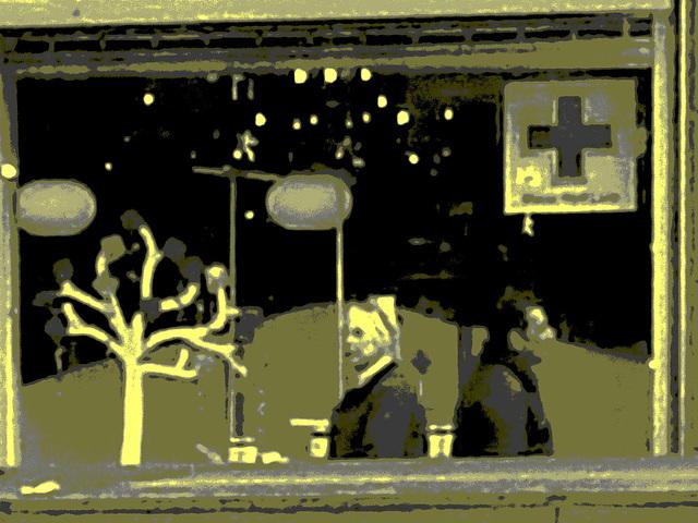 La zone Matas / Matas corner  -  Copenhague.  20 octobre 2008 -  Vintage postérisé