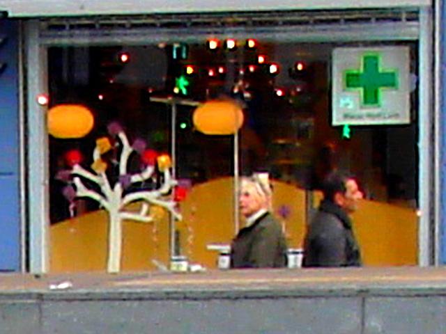 La zone Matas / Matas corner  -  Copenhague.  20 octobre 2008 -  Recadrage original avec couleurs ravivées
