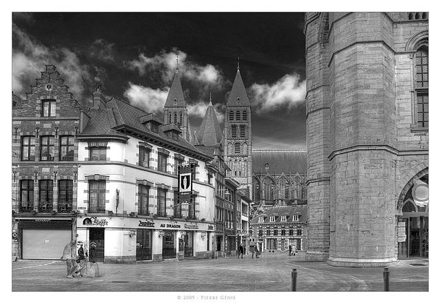 Tournai - (Belgium) Cathédrale