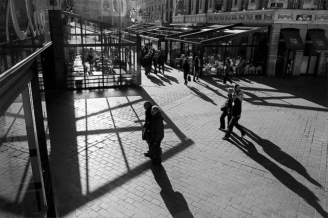 Lille : vers place Rihour de la Gr Place.