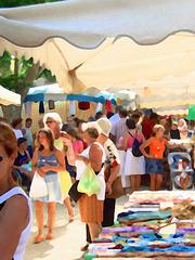 Marché de Sainte-Maxime