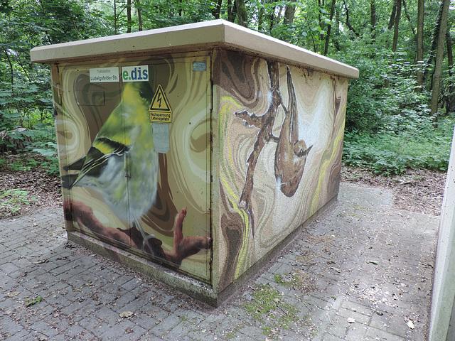 Trafostation bei Wietstock /1