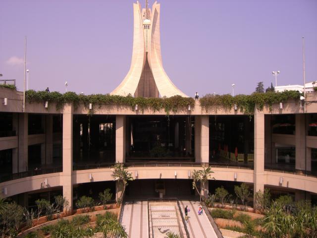 Riad El Fath ou Maqam El Chahid ou le Mémorial Alger