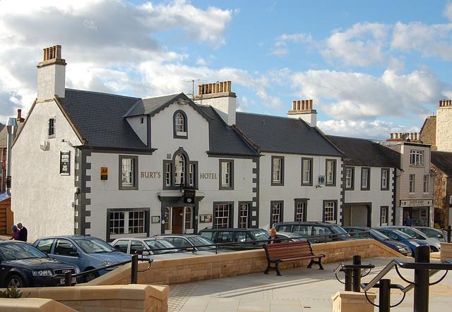 Burt's Hotel, Melrose, Borders, Scotland