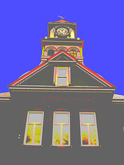 Palais de justice / Courthouse - Justice bidouillée / Doctored justice