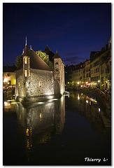 Le Palais de l'Isle à Annecy