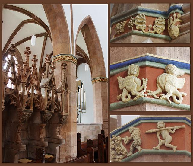 Chor der Klosterkirche  Amelungsborn