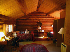 Colter Bay Village Cabin Interior (3640)