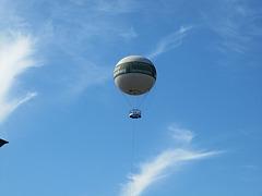 Im Ballon über Hamburg