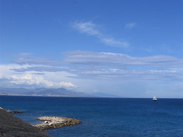 Antibes, la mer