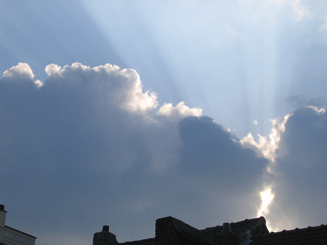 nuages sur bruxelles