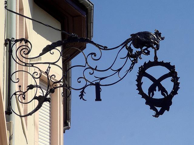 coq sur ciel d'Alsace