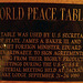 Jackson Lake Lodge - World Peace Table (3848)