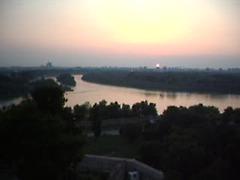 Kiel la rivero Sava eniras la Danubon