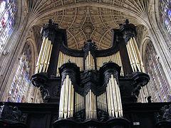 Organ at Kings