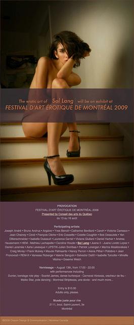 Festival D'Art Érotique De Montréal 2009