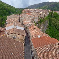 Spain - Catalonia, Castellfollit de la Roca