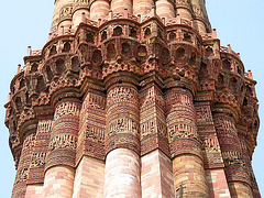 IMG 4522ac Old Delhi Fantastic Qtub Minar Highly Perched Balconies