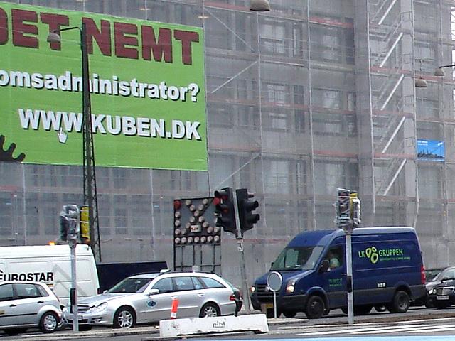 Camion LK gruppen /  LK gruppen truck -  Copenhague / Copenhagen.  20-10-2008