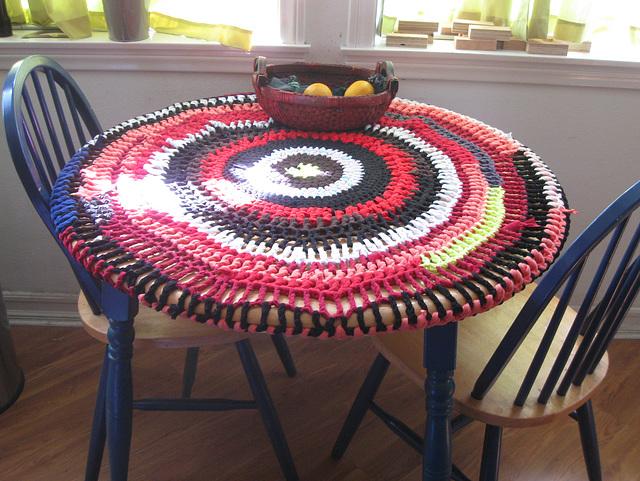 Kitchen Table Yarnbombing