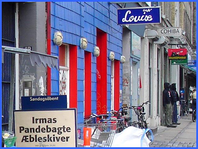 La perspective Louise /  Louise store area -  Copenhague, Danemark.  20 octobre 2008