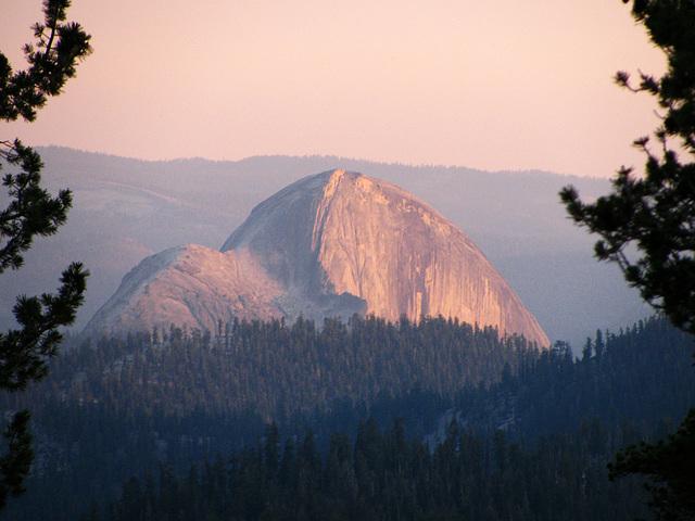 Half Dome From May Lake (0775)
