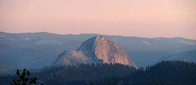 Half Dome From May Lake (0776)