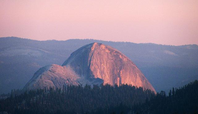Half Dome From May Lake (0778)
