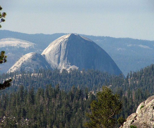 Half Dome From May Lake (0818)