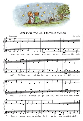 Dio scias (kanto)  / Kiom da steletoj... teksto: Vilhelmo Hey