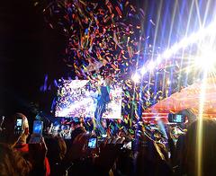 Coldplay concert (mobielenparade :-))