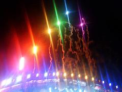 Einde concert Coldplay