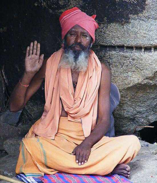 Saddhu greeting