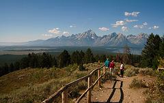 Teton Range From Signal Mountain (3653)