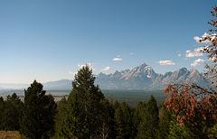 Teton Range Seen From Signal Mtn (1504)