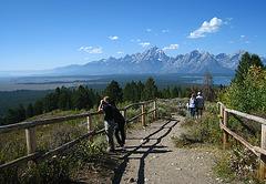 Teton Range Viewed From Signal Mountain (3649)