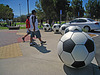 Soccer Ball Bollards (4385)