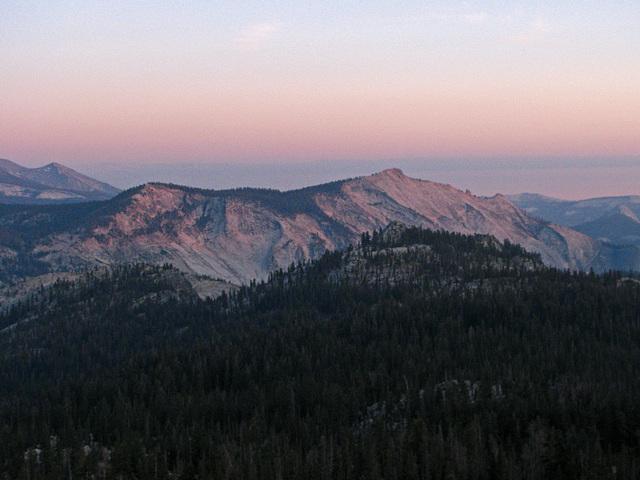 Sunset From May Lake (0792)