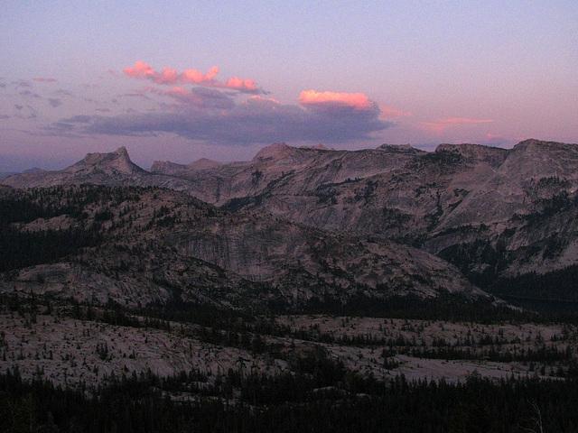 Sunset From May Lake (0794)