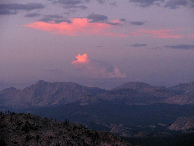 Sunset From May Lake (0795)