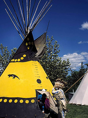 19960704-0798ac Teepees of Indian Natives